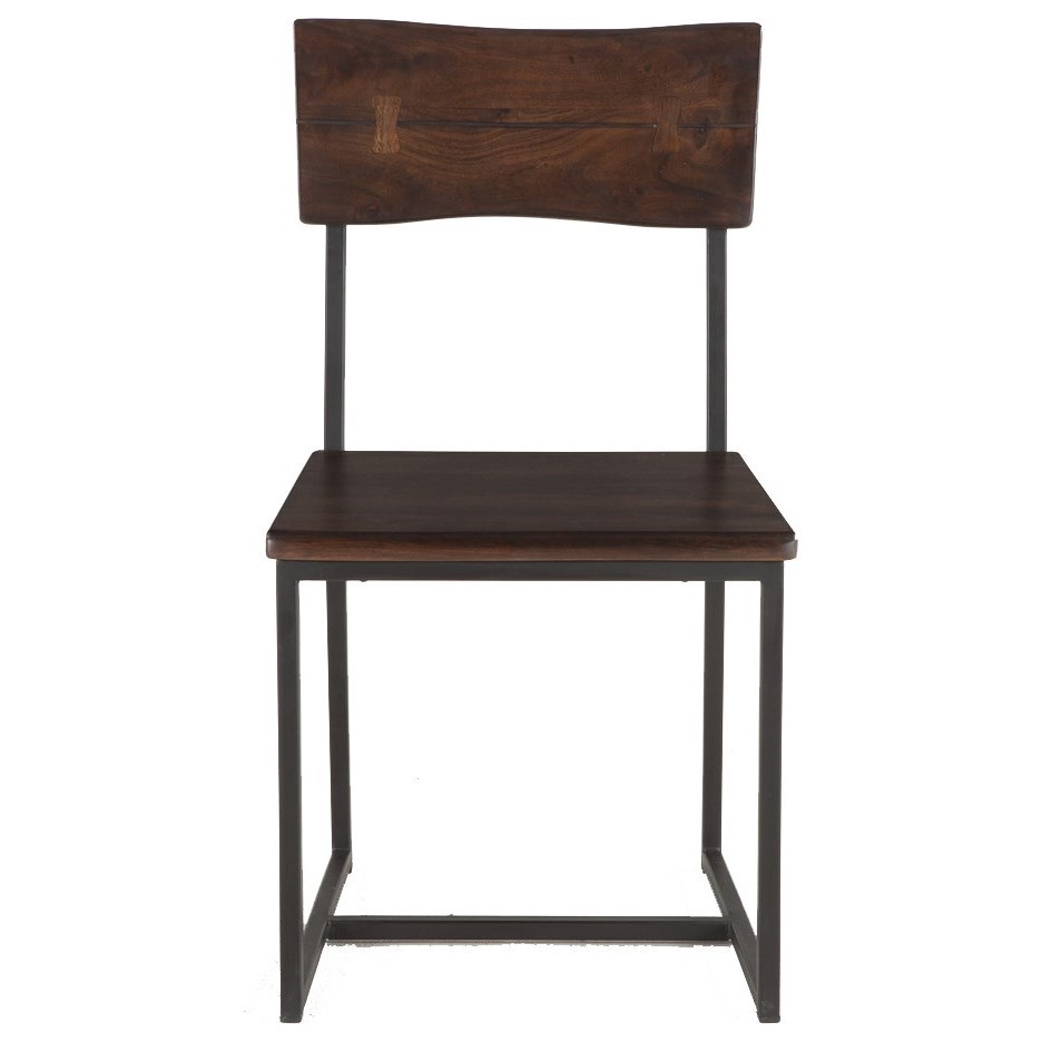 Faux Live-Edge Dining Chair