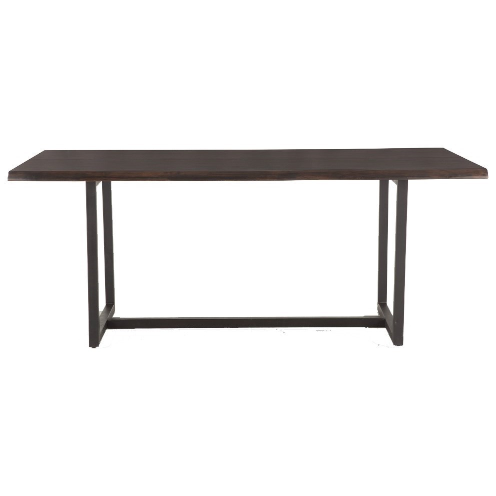 Faux Live-Edge Dining Table