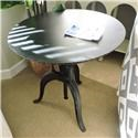 """BeGlobal Clearance 30"""" Round Adjustable Height Table - Item Number: 153379003"""