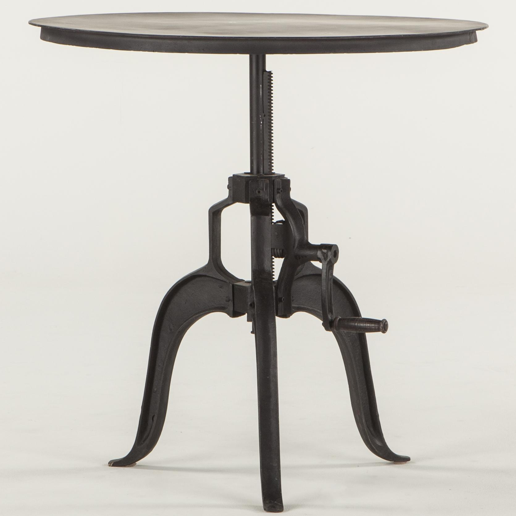 BeGlobal Industrial Loft Round Pub Table - Item Number: FIL-ST30