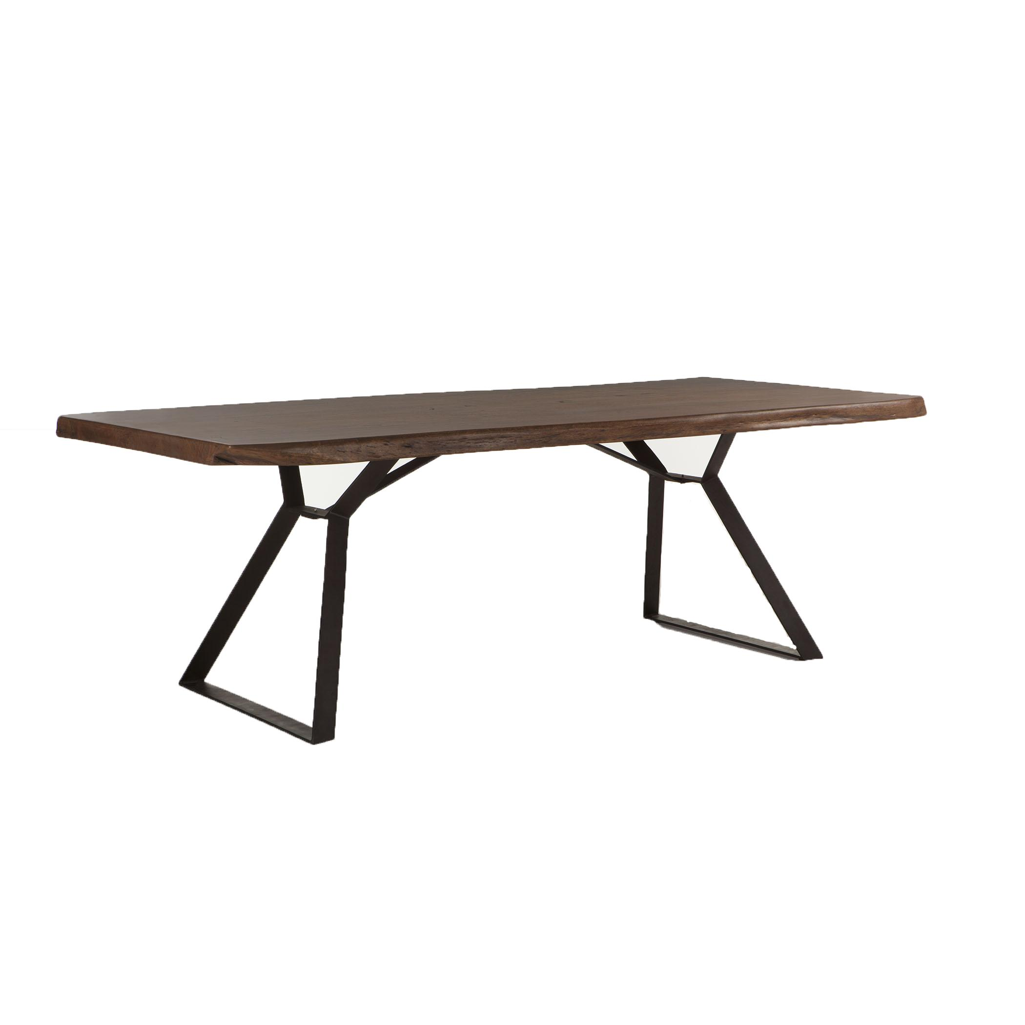 """80"""" Wood Top Table"""