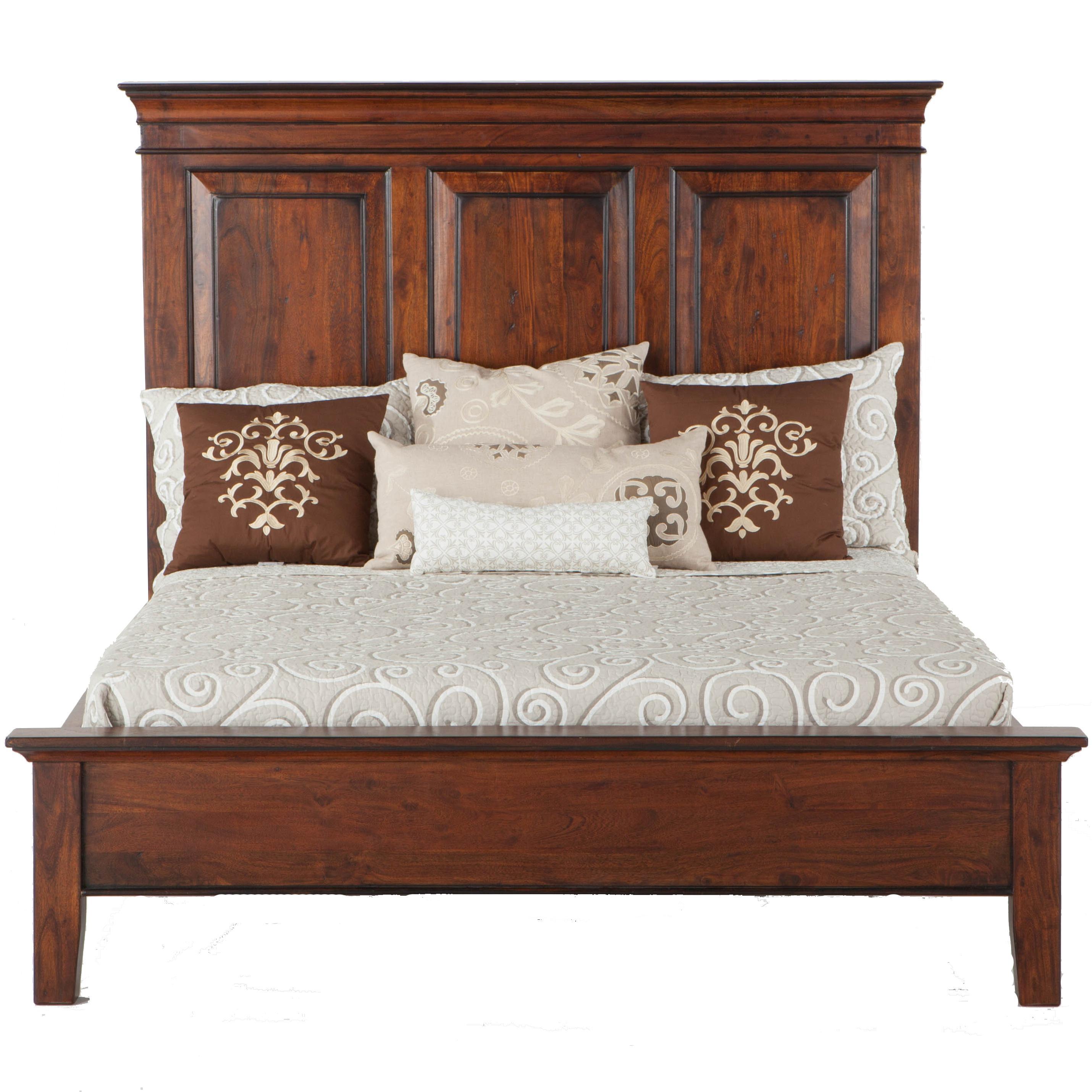 BeGlobal Timber Ridge Queen Panel Bed - Item Number: FTU-PBQP-F-H-R