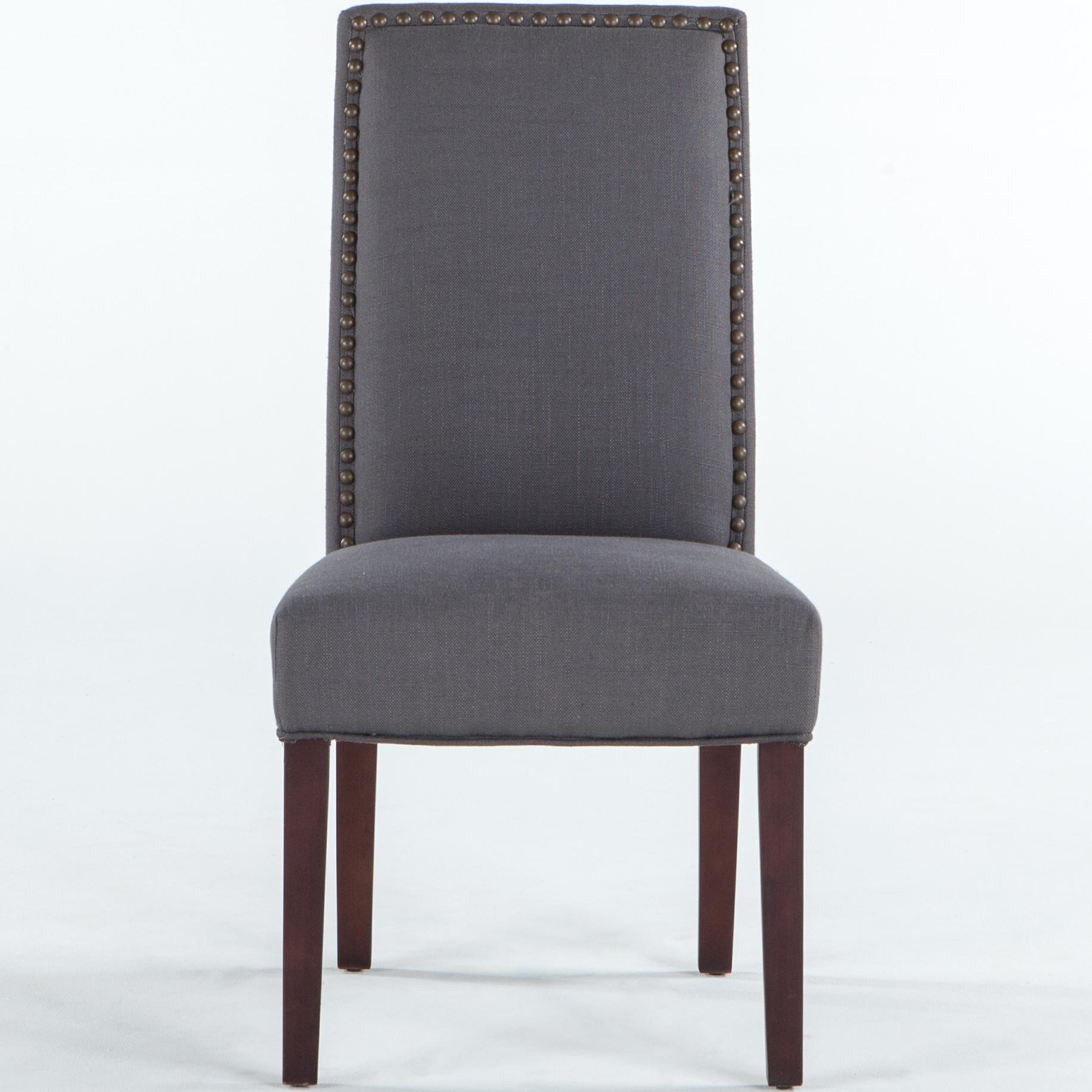 BeGlobal Meridian Dining Side Chair - Item Number: G206-JONES-11-D-Gray