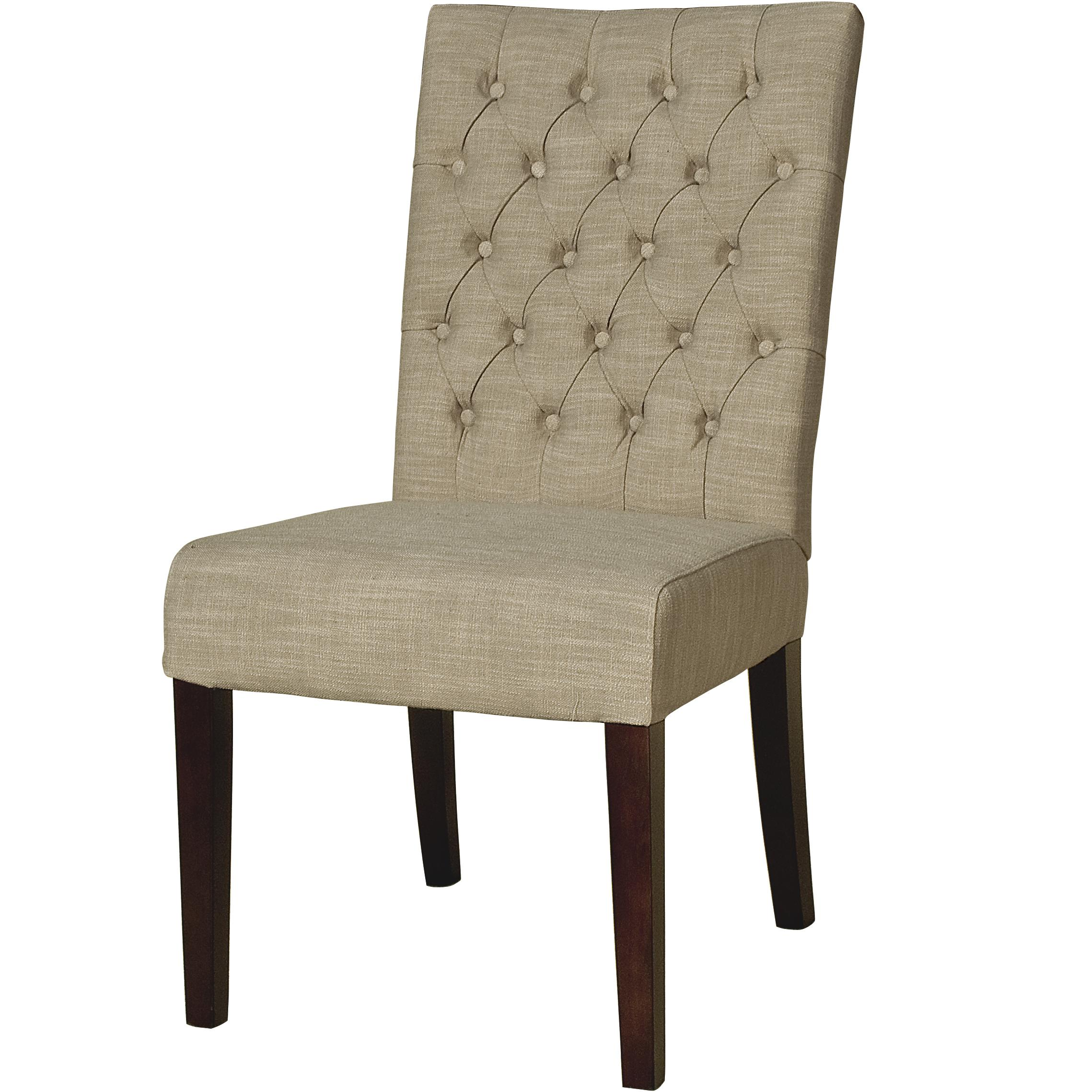 BeGlobal Meridian Dining Side Chair - Item Number: G206-SARA-OXE-D-OxfordEcru