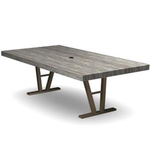 Homecrest Atlas Rectangular Dining Table