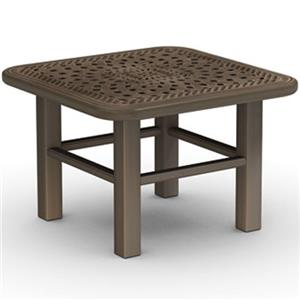 Homecrest Camden Cast Cast Aluminum End Table