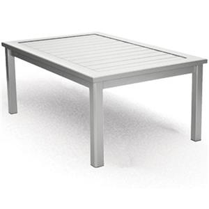 Homecrest Dockside Slat Rectangular Coffee Table