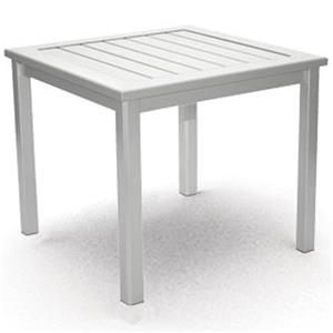 Homecrest Dockside Slat End Table