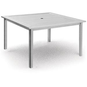 Homecrest Dockside Slat Square Balcony Table