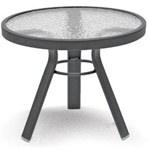 "Homecrest Glass 21"" Side Table"