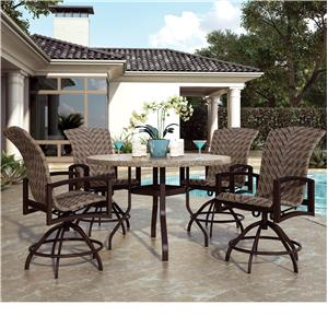 Homecrest Haven Hill Balcony Table and Chair Set