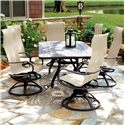 Homecrest Holly Hill Dining Set - Item Number: HC-Holly-Set1