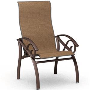 Homecrest Kensington Collection High Back Dining Chair