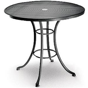 "Homecrest Mesh 30"" Cafe Table with Aluminum Base"
