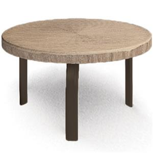 "Homecrest Slate 24"" Round Side Table"