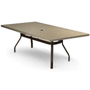 Homecrest Stonegate 42x 84 Rectangular Balcony Table