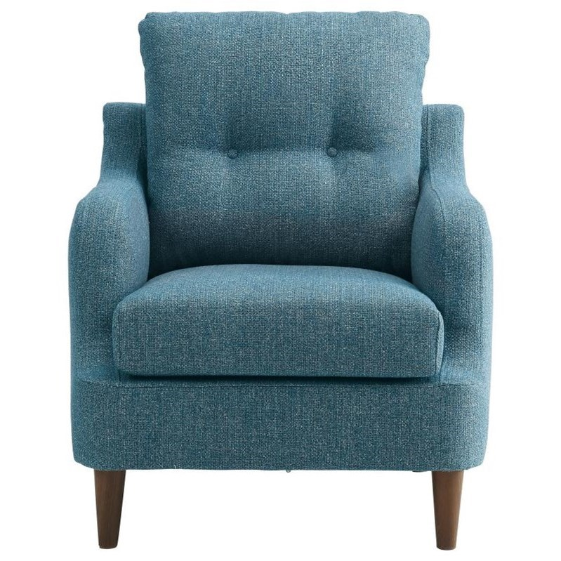 Homelegance Cagle Accent Chair - Item Number: 1219BU-1