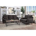 Homelegance Cagle Transitional Love Seat