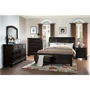 Homelegance Carmella Queen Bed