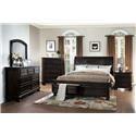 Homelegance Carmella California King Bed - Item Number: 1718KGY-1+2+3CK