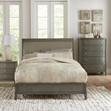 Homelegance Cotterill Contemporary Queen bed with Diamond Tufted Upholstered Headboard - Bed shown may not represent bed size indicated