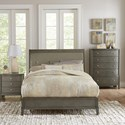 Homelegance Cotterill Contemporary King bed with Diamond Tufted Upholstered Headboard - Bed shown may not represent bed size indicated