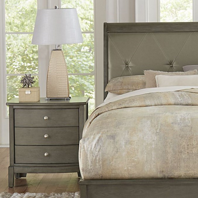 Cotterill Night Stand by Homelegance at A1 Furniture & Mattress