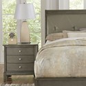 Homelegance Cotterill Night Stand - Item Number: 1730GY-4