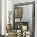 Homelegance Cotterill Rectangular Mirror - Item Number: 1730GY-6