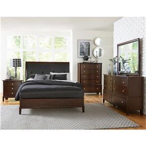 Queen Loft Bed, Dresser, Mirror & Nightstand
