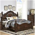 Homelegance Augustine Court Queen Bed - Item Number: 1814-1+3+P