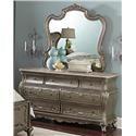 Homelegance Florentina Dresser & Mirror - Item Number: 1867-05+06