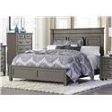 Homelegance 1911 Queen Bed - Item Number: 1911-1+2+3