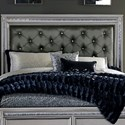 Homelegance 1958 Glam Queen Headboard - Item Number: 1958-1