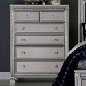 Homelegance 1958 Glam Chest of Drawers - Item Number: 1958-9