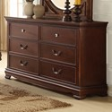 Homelegance 2039C Traditional Dresser - Item Number: 2039C-5
