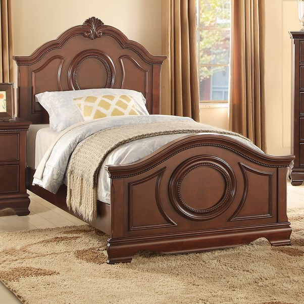 Homelegance 2039C Traditional Twin Bed - Item Number: 2039TC-1