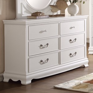 Homelegance 2039W Traditional Dresser