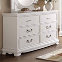Homelegance 2039W Traditional Dresser - Item Number: 2039W-5