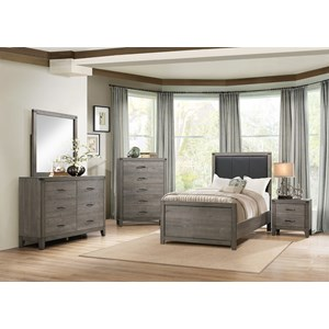 Homelegance 2042 Contemporary Twin Bedroom Group