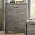 Homelegance 2042 Contemporary Chest of Drawers - Item Number: 2042-9