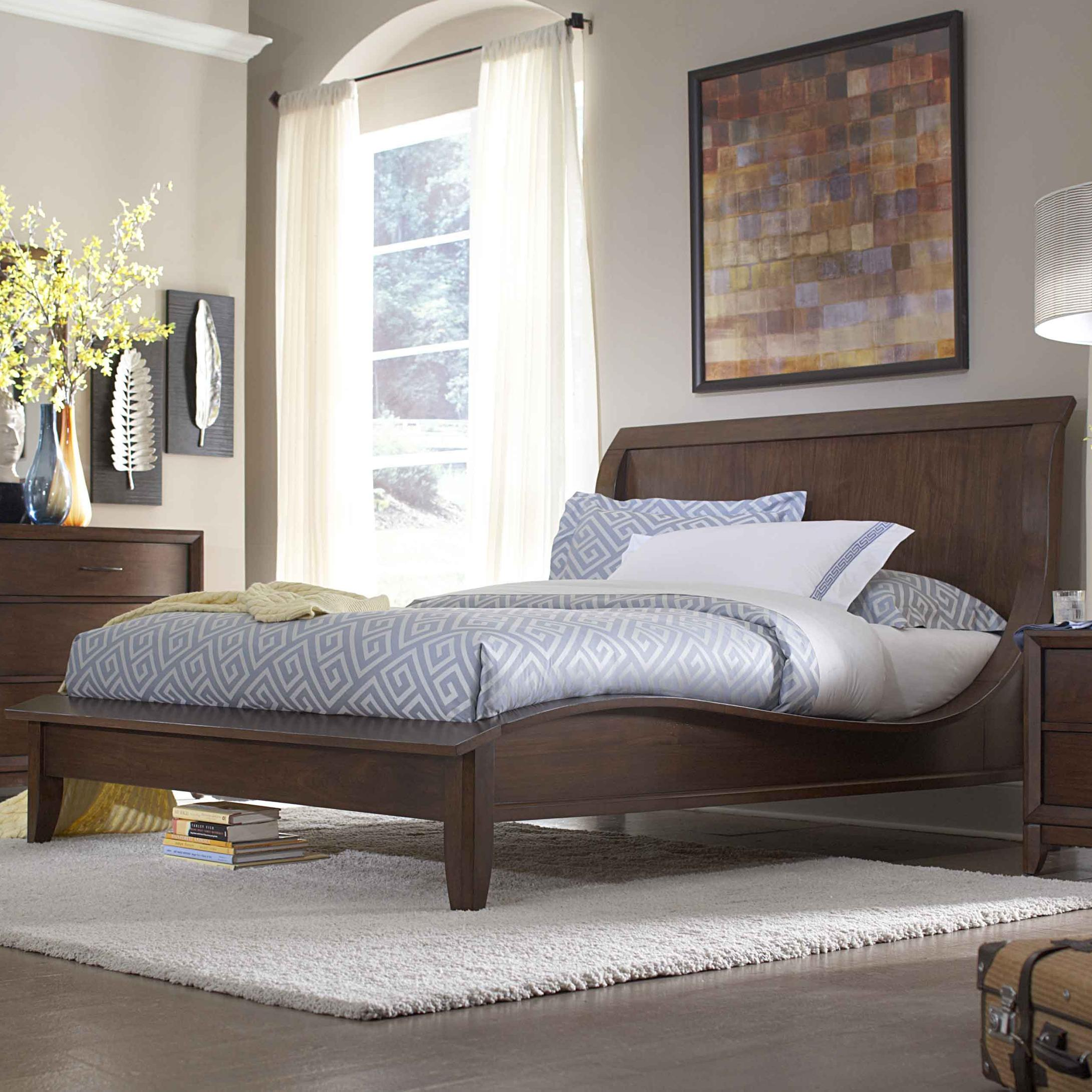 Homelegance 2135 Queen Bed - Item Number: 2135-1+2135-3