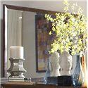 Homelegance (Clackamas Only) 2135 Waved-Front Dresser with Landscape Mirror - Mirror