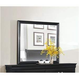 Homelegance Mayville Black Mirror