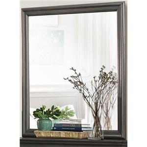 Homelegance Mayville Gray Mirror