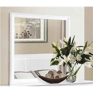 Homelegance Mayville White Mirror