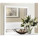 Homelegance Mayville White Mirror - Item Number: 2147W-6