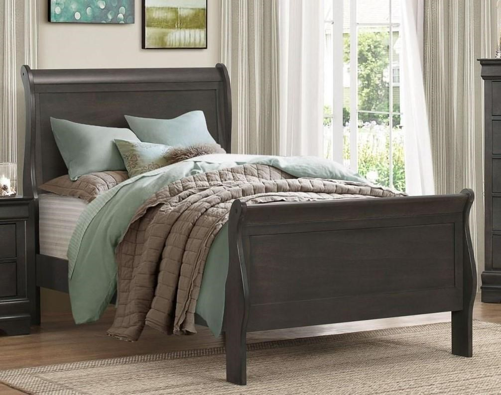 Homelegance Mayville Twin Gray Bed - Item Number: GRP-2147-GRAYTWBED