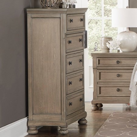 Homelegance 2259GY Chest of Drawers - Item Number: 2259GY-9