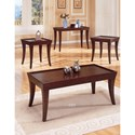 Homelegance Zen Casual End Table with Espresso Finish